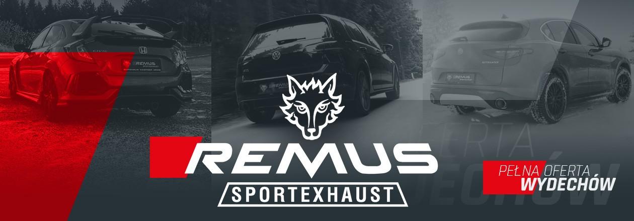 Pełna oferta układów wydechowych REMUS