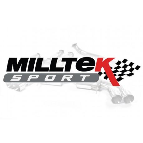 Układ wydechowy MILLTEK Audi A3 1.9 TDI 1996-2004 (Cat-back)