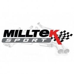 Układ wydechowy MILLTEK Audi A4 1.8T B6 quattro 190BHP 2003-2005 (Cat-back)