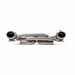 Układ wydechowy AKRAPOVIC Porsche 911 Carrera /S/4/4S (992) OPF/GPF Slip-On Line (Titanium)