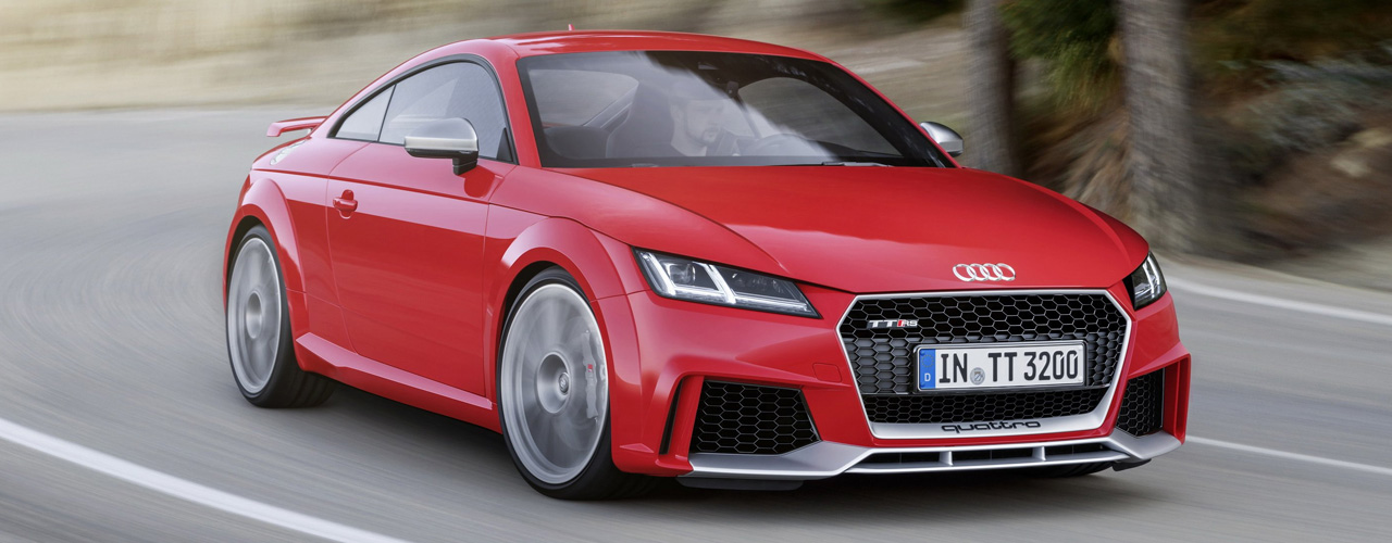 Audi TTRS 8S - części tuning