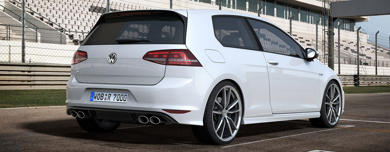 Volkswagen Golf R MK7 - części tuning